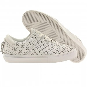 Clear Weather Men The Ninety Low Top (white / perf leather)