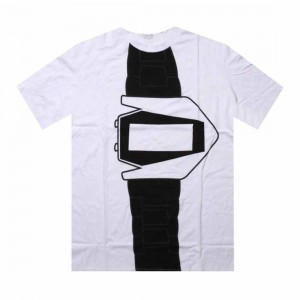 Dumb Watch Tee (white / black)