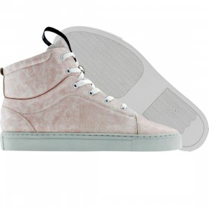 Dumb Mid High (pink / distressed)