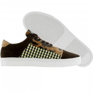 Dumb Thats A Fly Low (brown / white / gingham)