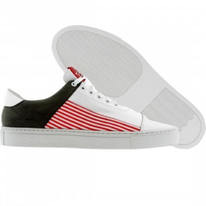 Dumb Thats A Fly Low (white / red / stripes)