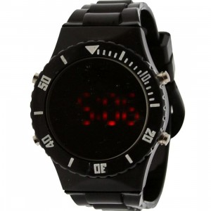 Dumb Mirror Digital Watch (black)
