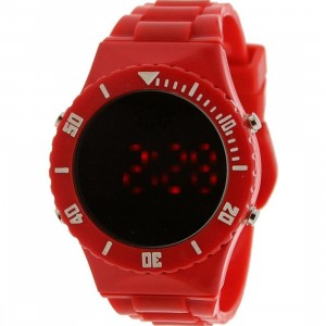 Dumb Mirror Digital Watch (red)