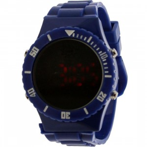 Dumb Mirror Digital Watch (royal blue)