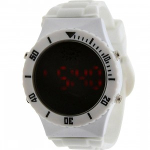 Dumb Mirror Digital Watch (white)