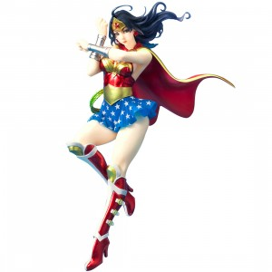 Kotobukiya DC Comics Armored Wonder Woman 2nd Edition Bishoujo Statue (red)