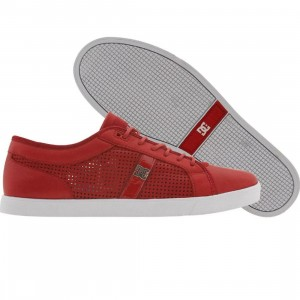 DC Life Collection Dress Sneaker (red)