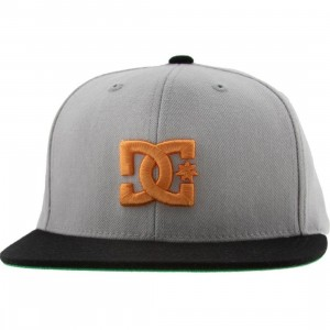 DC Back To It Starter Snapback Cap (ash / black)