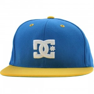 DC Back To It Starter Snapback Cap (blue / yellow)