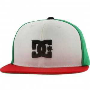DC Back To It Starter Snapback Cap (white)