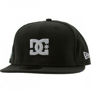 DC The Streets New Era Fitted Cap - New York (black)