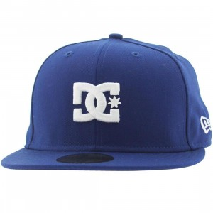 DC The Streets New Era Fitted Cap - Los Angeles (royal)