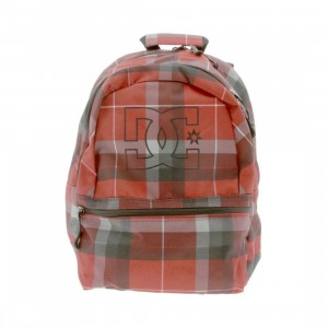 DC Recess Backpack (red / grey)
