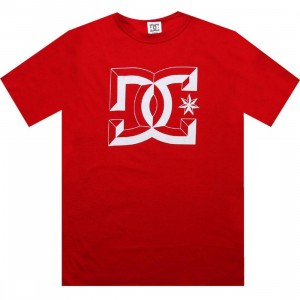 DC Center D Tee (true red)