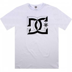 DC Center D Tee (white)