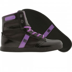 DC Life Collection Womens Admiral (black / f purple)