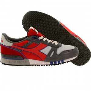 Diadora Men Titan II (gray / alaska / ferrari red)