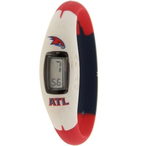 Deuce Brand NBA Atlanta Hawks Watch (white / red / black)