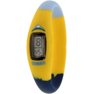 Deuce Brand NBA Denver Nuggets Watch (yellow / light blue / navy)