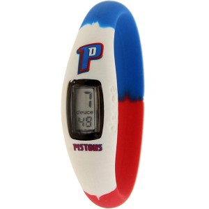 Deuce Brand NBA Detroit Pistons Watch (white / blue / red)