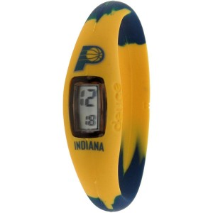 Deuce Brand NBA Indiana Pacers Watch (yellow / navy)