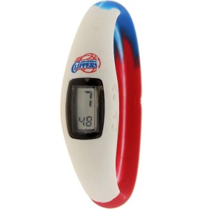 Deuce Brand NBA Los Angeles Clippers Watch (white / blue / red)