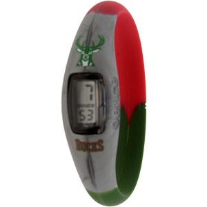 Deuce Brand NBA Milwaukee Bucks Watch (grey / green / red)