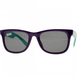 DGK Haters 2 Tone Shades (purple / teal)