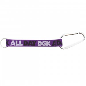 DGK All Day Carabiner Keychain (purple)
