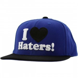 DGK Haters Snapback Cap (royal / black)