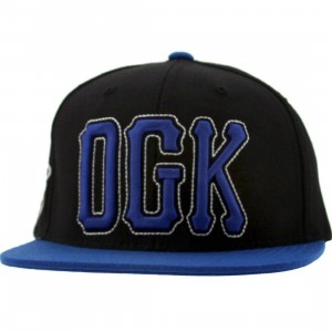 DGK Getters Snapback Cap (black / royal)
