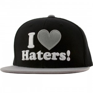DGK Haters Snapback Cap (black / grey)