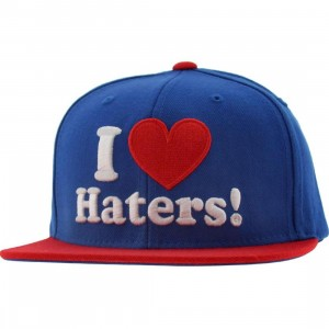DGK Haters Snapback Cap (royal / red)