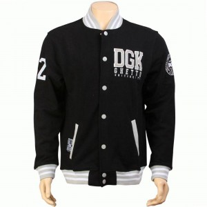 DGK Scholar Snap Up Fleece Jacket (black)