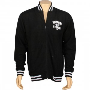 DGK Support Varsity Fleece Jacket (black)