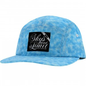 DGK Fat Tip 5 Panel Snapback Cap (blue)