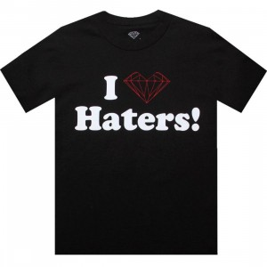 Diamond Supply Co x DGK Haters Tee (black)