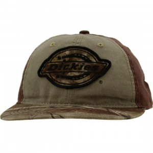 Dickies RL Tree Camo Adjustable Cap (brown / camo)