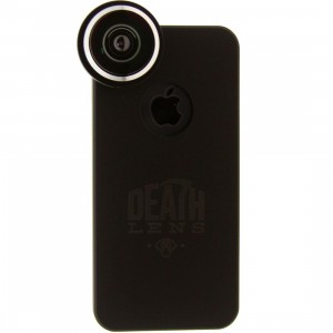 Death Lens iPhone 5 And 5S Fisheye Lens Case (black / red box)