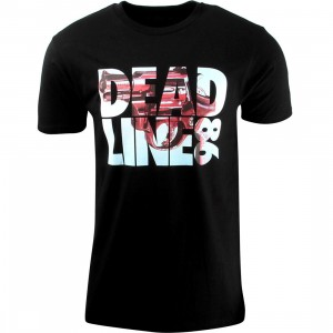 Deadline 86 Tee (black)