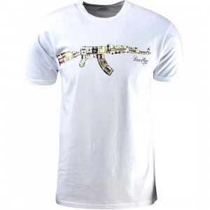 Deadline Money AK-47 Tee (white)