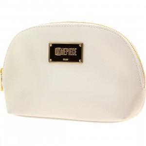 Dimepiece Women Logo Makeup Bag (white)