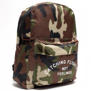 Dimepiece Catching Flights Not Feelings Backpack (camo)