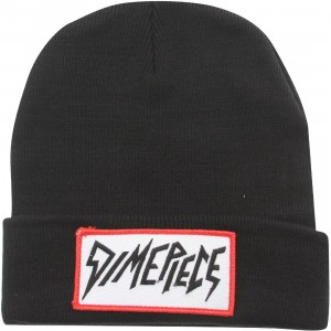 Dimepiece Women Logo Beanie (black / red detail)