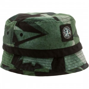 Diamond Supply Co Simplicity Bucket Hat (green) S/M