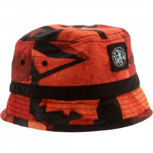 Diamond Supply Co Simplicity Bucket Hat (red)