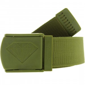 Diamond Supply Co Military Scout Belt (army)