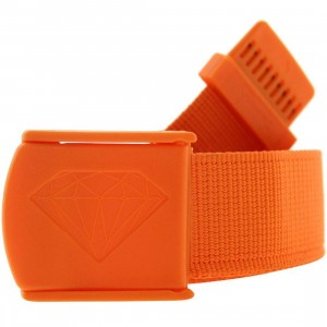 Diamond Supply Co Military Scout Belt (orange)