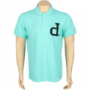 Diamond Supply Co Un-Polo Short Sleeve Polo Shirt (diamond blue)