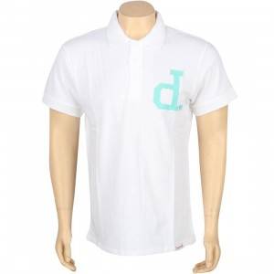 Diamond Supply Co Un-Polo Short Sleeve Polo Shirt (white)